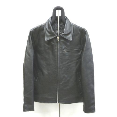 【角石】牛革トラッカージャケット