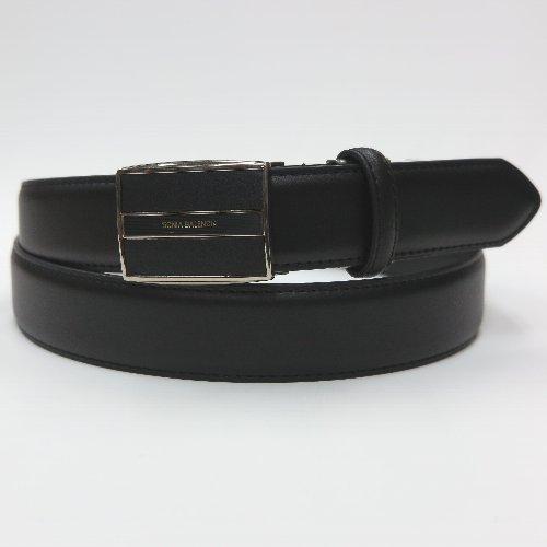 【正岡商事】35mm巾 革/合皮 ロングサイズフィット ベルト
