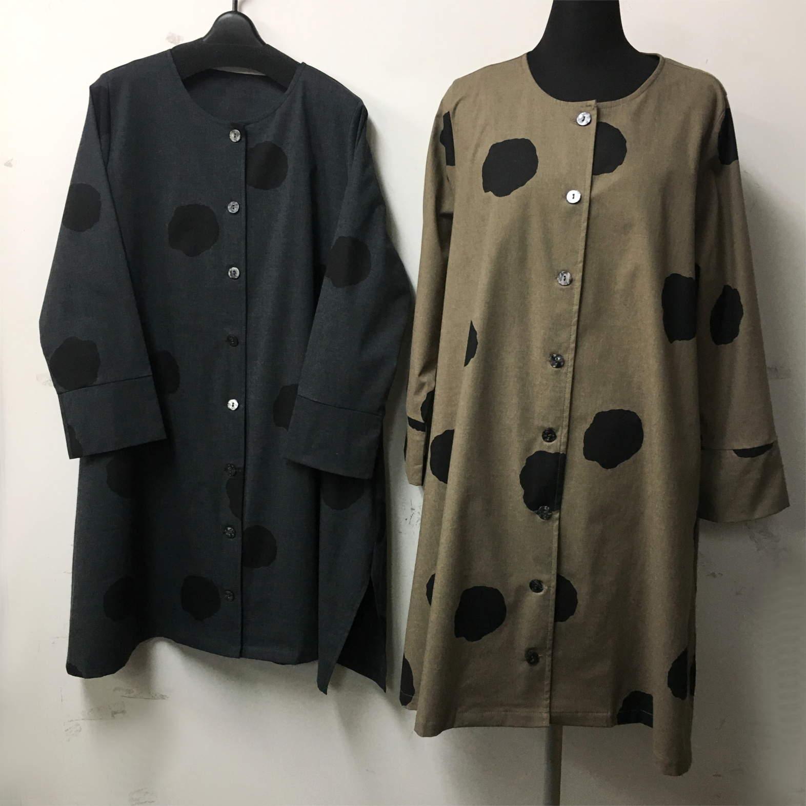 【ジェーユースタイル】ドットジャケット