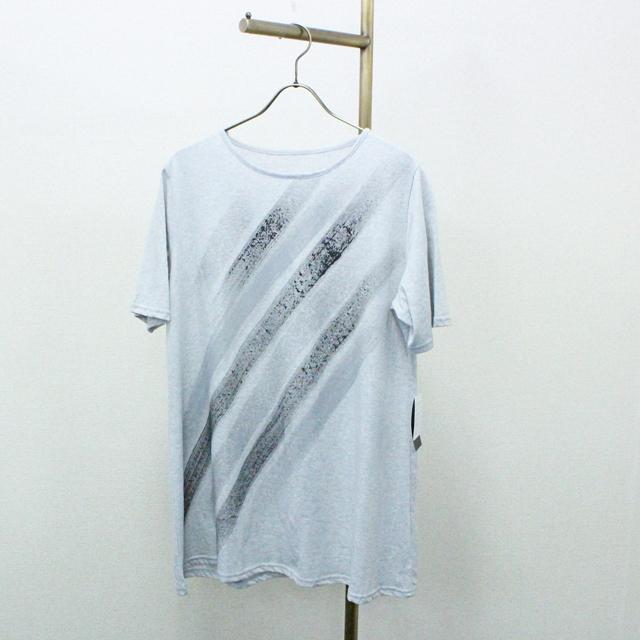 【SENA TOKYO】ラメプリントTシャツ(ライン柄B)完売