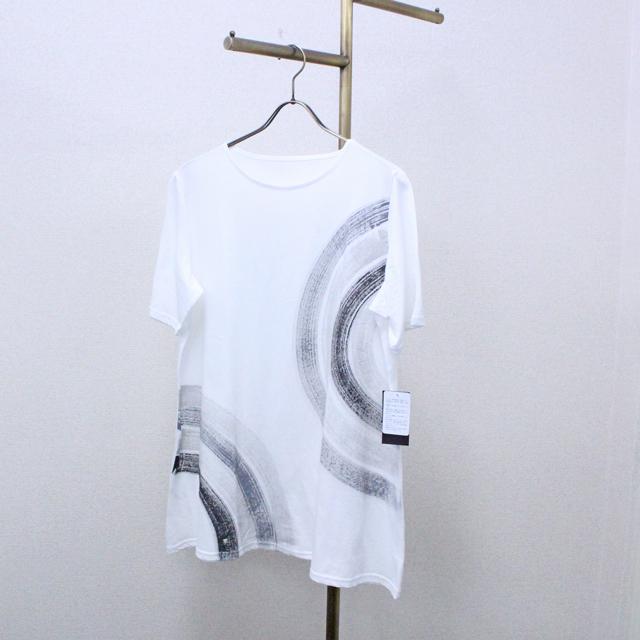 【SENA TOKYO】ラメプリントTシャツ(ライン柄A)完売